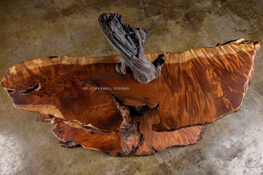 Artisan rustic furniture.